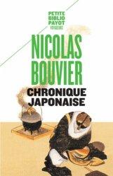 Dernières parutions dans Petite Bibliothèque Voyageurs, Chronique japonaise