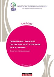 Dernières parutions dans Rapport, Chauffe-eau solaires collectifs avec stockage en eau morte