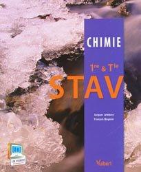 Nouvelle édition Chimie STAV 1ère et terminale