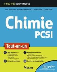 Dernières parutions dans Prepas scientifiques, Chimie PCSI