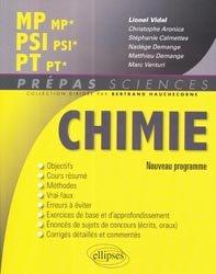 Souvent acheté avec Maths PSI PSI*, le Chimie MP - MP* PSI - PSI* PT - PT*