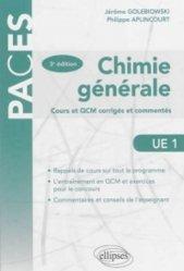 Souvent acheté avec Histologie UE2, le Chimie générale
