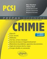 Dernières parutions dans Prépas sciences, Chimie PCSI