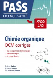 Dernières parutions sur PACES - PASS - LAS - MMOP, Chimie organique - QCM corrigés