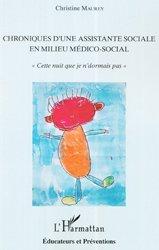 Chroniques d'une assistante sociale en milieu médico-social