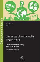 Dernières parutions dans Développement Durable, Challenges of functionality for eco-design