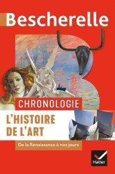 Nouvelle édition Chronologie de l'histoire de l'art. De la Renaissance à nos jours - Chronologie
