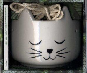 Dernières parutions sur Balcons - Pots - Terrasses, Chat pousse ! ...et chat décore. Petit guide de survie des plantes d'intérieur avec 1 pot en forme de tête de chat