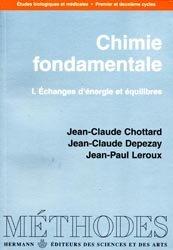 Nouvelle édition Chimie fondamentale Tome 1