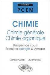 Dernières parutions dans PCEM, Chimie  - Chimie générale - Chimie organique