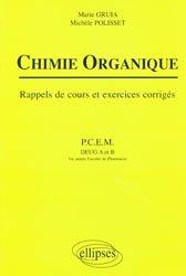 Souvent acheté avec 100 QCM corrigés - Génétique  - Biologie moléculaire, le Chimie organique