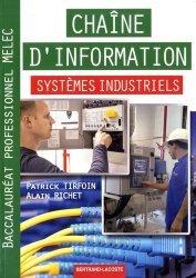 Dernières parutions sur CAP - Bac pro et techno, Chaine d'information systemes industriels bac pro melec