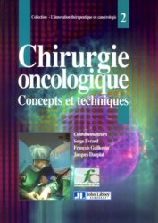 Dernières parutions sur Chirurgie oncologique, Chirurgie oncologique