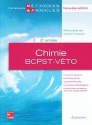 Souvent acheté avec Mathématiques Résumé du cours en fiches BCPST 1re et 2e années, le Chimie 2ème année BCPST - Véto