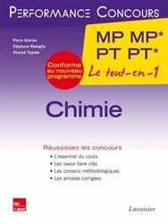 Dernières parutions dans Performance Concours, Chimie 2ème année MP MP* PT PT*