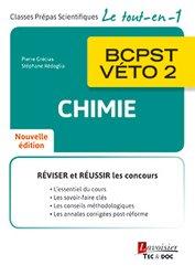 Dernières parutions sur BCPST 2ème année, Chimie BCPST-VÉTO 2