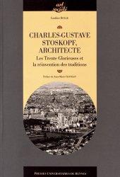 Dernières parutions dans Art et société, Charles-Gustave Stoskopf (1907-2004), architecte