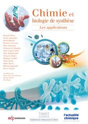 Dernières parutions sur Chimie, Chimie et biologie de synthèse