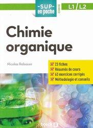 Dernières parutions sur Chimie organique, Chimie organique