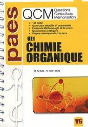 Souvent acheté avec UE3 - Aspects fonctionnels, le Chimie Organique  UE1