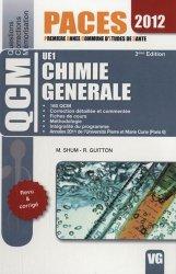 Souvent acheté avec Chimie en fiches et QCM UE1, le Chimie générale UE1