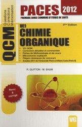 Souvent acheté avec Biologie de la reproduction UE2, le Chimie Organique  UE1