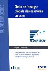 Dernières parutions dans Guide Eurocode, Choix de l'analyse globale des ossatures en acier