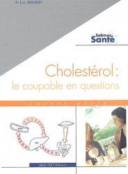 Dernières parutions dans Sabinus et santé, Cholestérol : le coupable en questions