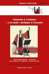 Dernières parutions dans L'unité du droit, Chansons & costumes