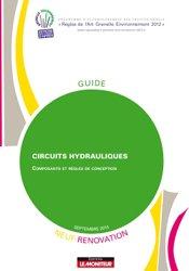 Dernières parutions dans Guide RAGE, Circuits hydrauliques