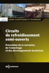 Dernières parutions sur Climatisation - Froid, Circuits de refroidissement semi-ouverts