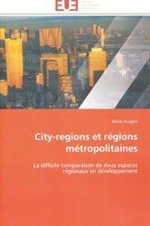 Dernières parutions sur Espaces urbains, City-regions et régions métropolitaines