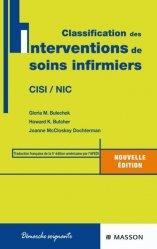 Dernières parutions dans Démarche soignante, Classification des Interventions de soins infirmiers   CISI / NIC