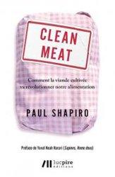 Dernières parutions sur Industrie agroalimentaire, Clean meat