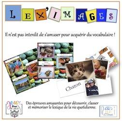 Dernières parutions sur Jeux, Coffret jeu LEX'IMAGES