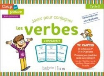 Dernières parutions sur Grammaire-Conjugaison-Orthographe, Coup de pouce pour apprendre Hachette Istra - Jeu de cartes - L'imparfait - 2020