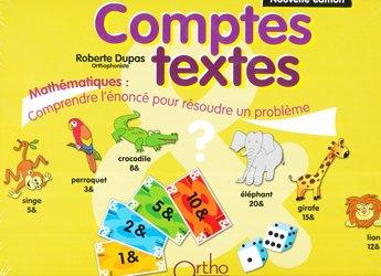 Souvent acheté avec Construction et utilisation du nombre, le Comptes-textes