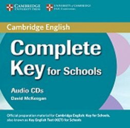 Dernières parutions sur KET, Complete Key for Schools - Class Audio CDs (2)