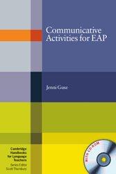 Dernières parutions dans Cambridge Handbooks for Language Teachers, Communicative Activities for EAP - Paperback with CD-ROM