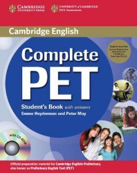 Dernières parutions dans Complete PET, Complete PET - Student's Book Pack (Student's Book with answers with CD-ROM and Audio CDs (2))
