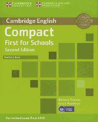 Dernières parutions dans Compact First for Schools, Compact First for Schools Teacher's Book
