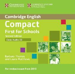 Dernières parutions dans Compact First for Schools, Compact First for Schools - Class Audio CD
