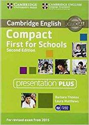 Dernières parutions sur Compact, Compact First for Schools - Presentation Plus DVD-ROM