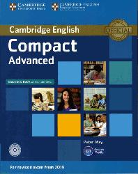 Dernières parutions sur Compact, Compact Advanced - Student's Book without Answers with CD-ROM