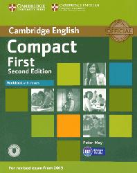 Dernières parutions sur Compact, Compact First - Workbook with Answers with Audio