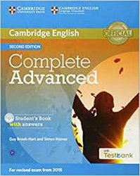 Dernières parutions dans Complete Advanced, Complete Advanced - Student's Book with Answers with CD-ROM with Testbank