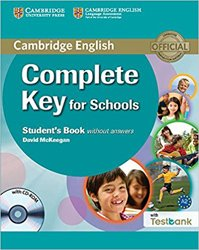 Dernières parutions sur KET, Complete Key for Schools - Student's Book without Answers with CD-ROM with Testbank