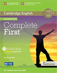 Dernières parutions dans Complete First, Complete First - Student's Book without Answers with CD-ROM with Testbank