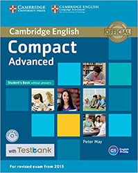 Dernières parutions sur Compact, Compact Advanced - Student's Book without Answers with CD-ROM with Testbank
