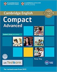 Dernières parutions sur Compact, Compact Advanced - Student's Book with Answers with CD-ROM with Testbank